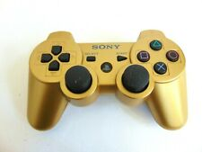 Genuine OEM Sony Playstation 3 PS3 Sixaxis DualShock 3 Gamepad - GOLD