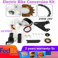250W 24V ELECTRIC BICYCLE MOTOR KIT E-BIKE CONVERSION KIT SIMPLE DIY E BIKE USA