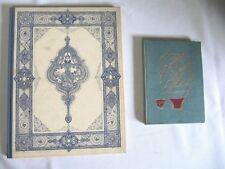 RUBAIYAT OF OMAR KHAYYAM BOOKS: 1ST ENG. EDITION & a RARE Gifted TEHRAN, IRAN