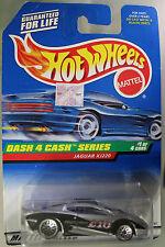 Hot Wheels 1:64 Scale 1997 Dash 4 Cash Series JAGUAR XJ220 (FULL SPOKES)