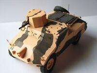 "Modelik 06/10 - MORRIS MK.I ""RECCE""  1:25 mit Lasercutteilen"
