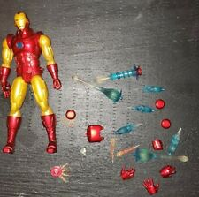 Mezco Toyz ONE:12 Collective Iron Man Light Up Chest Metal Features Marvel