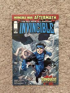 Invincible #61 1st App Conquest War Aftermath Image Comics Amazon Prime