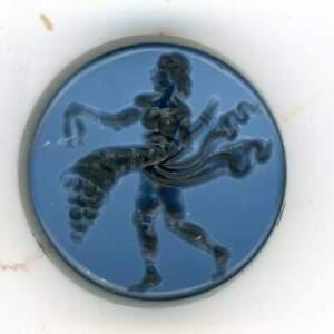 Roman Style Two Layer Agate Intaglio Signet Seal