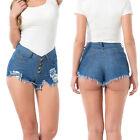 été chaud femmes 's taille haute sexy short jeans pantalon Mini