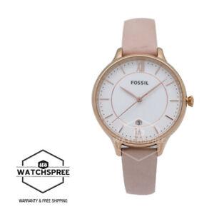 Fossil Ladies' Winnie Three-Hand Blush Leather Watch ES4872