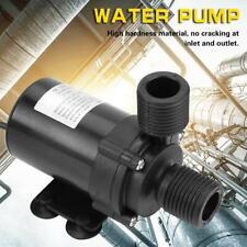 24V Mini DC Brushless Wasserpumpe Pumpe für Solarwarmwasserbereiter -40℃~100℃❤