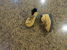 Carter's Hiking Boots Brown black sole toddler boys 6 M 32640 lace up work