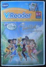 V.Reader DISNEY FAIRIES TINKER BELL GREAT RESCUE Reading Learning Game Vtech