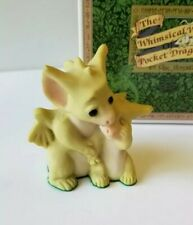 """""""It's Ok to Cry"""" Whimsical World of Pocket Dragons by Real Musgrave with Box"""