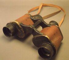 Vintage WWII Signal Corps US Army Field Binoculars from US Naval Gun Factory