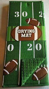 "FOOTBALL/GAMEDAY DRYING MAT  15"" X 20""  GRIDIRON"
