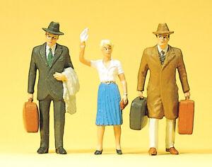 Preiser 63066 Scale 1:3 2 Gauge 1 Figurines Travelers Hand Painted # New Boxed