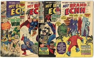 Not Brand Echh #1 - 13  Complete Set  avg. FN 6.0  Marvel  1967  No Reserve