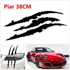 Waterproof Car Headlight Scratch Style Vinyl Decal DIY Black Decoration Sticker