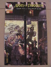 Army of Darkness Shop Till You Drop Dead #1 #2 #3 #4 Full Series 9.6 NM+