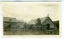 1910-15 Photo showing Old Church in small rural Town in Alaska