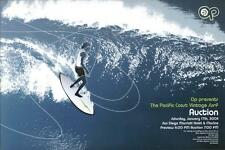 2004 Op Pacific Coast Vintage Surf Auction Original Poster San Diego