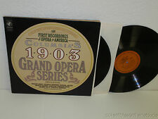 First Recordings of Opera in America:Columbia's 1903 Grand Opera LP Y2 35232