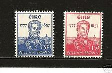 IRELAND  # 161-162  MNH Admiral William Brown Navy