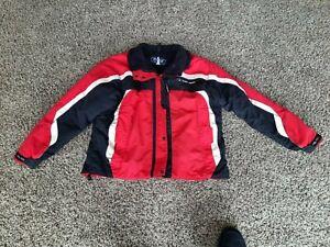 Vintage Polaris snowmobile jacket-size Large