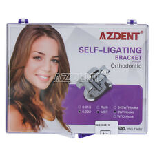 "Dental Orthodontic Self-ligating Brackets Braces MBT.022"" 3 Hooks UK"