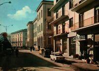 CARTOLINA DI AVELLINO - PIAZZA GARIBALDI E HOTEL PATRIA -