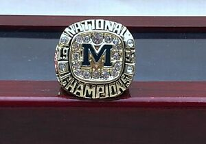 1997 Michigan Wolverines National Ring Fan Gift !!