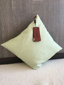 """MISSONI HOME GARDEN COLLECTION cushion with duck Feather filling 16x16"""""""