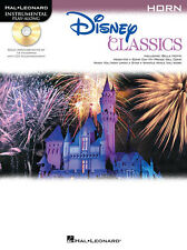 """""""Disney Classics"""" Instrumental Play-Along For Horn: Music Book/Cd-Brand New-Sale"""