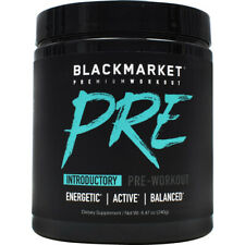 BlackMarket Labs Pre Pre Workout Sports Energy Muscle Fuel Powder 30 Servings