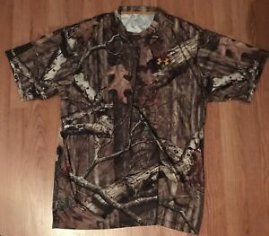 Under Armour Mossy Oak Infinity Camo Hunting Shirt-L