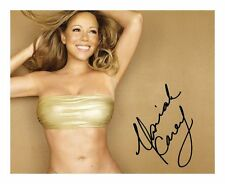MARIAH CAREY SIGNED AUTOGRAPHED A4 PP PHOTO POSTER