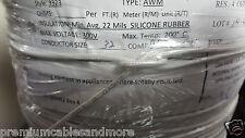 Group Dekko 32awg Braid Silicone Heater Wire 4Ohm/ft 200C 300V UL 3323 /100ft