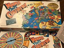 Vintage 1992 Name That Country Geography Board Game by Educational Insights