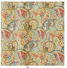 Paisley Fabric Shower Curtain