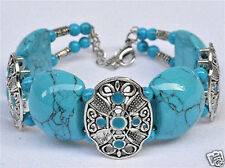 Jewellery Exquisite Tibetan Tibet Silver Turquoise Bangle Jewelry Bracelet