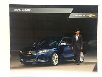 2016 Chevrolet Impala Dealership Brochure Chevy GM