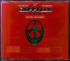 CAPPELLA Move On Baby  CD 7 Tracks, Definitive Edit/Razor Mix/House Mix/Raf And