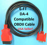6FT Snap On Scanner DA-4 Compatible OBDII OBD2 Data Cable 4 MODIS ULTRA EEMS328