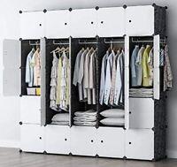 25 Cubes Modular Wardrobe Closet Storage Unit Customize Any Shape