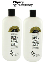 2 x Houbigant Alyssa Ashley Musk 25.5 oz Body Lotion Women LOT
