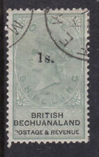 British Bechuanaland 1888 Used FU Part Set Queen Victoria 1 Shilling Overprint