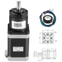 42 mm Planetary Gear Motor Nema 17 Stepper Motor Step Angle 1.8° 3.6N.cm CNC