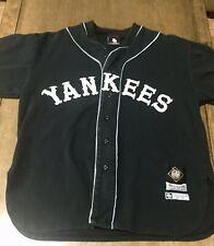 NLBM Negro Leagues Baseball Jersey New York Black Yankees Mens Large BigBoy Gear