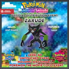 Zarude Event   Pokémon the Movie Coco   Pokemon Sword & Shield