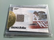 JAMES BOND 50th ANNIVERSARY - RELIC CARD JBR28 FRANZ SANCHEZ'S AIRPLANE INTERIOR