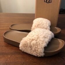 UGG ROYALE 1095670 WOMAN'S SLIPPERS SZ 6 NEW AUTHENTIC* NATURAL