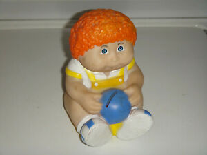 CABBAGE PATCH KIDS DOLL COIN BANK VINTAGE 1983 STAR POWER RED HAIR