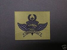 Singapore master freefall airborne special forces commando para wing badge halo